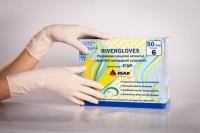 Перчатки хирургические стерильные Rivergloves