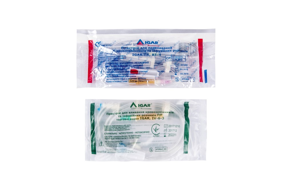 Infusion and transfusion sets