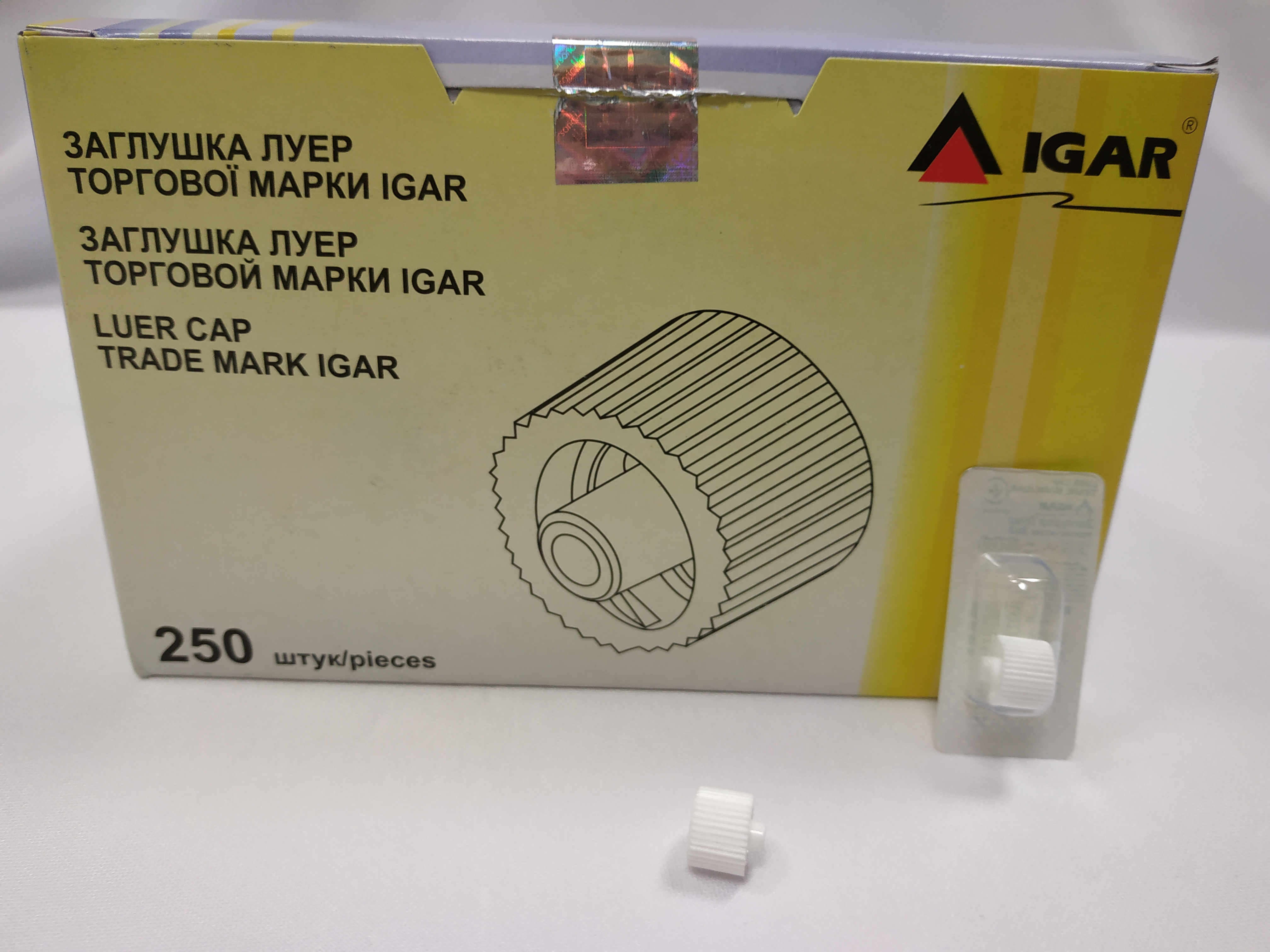 Заглушка Луер торговой марки IGAR